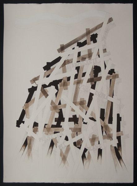 Avantprojecte d'una ombra projectada pel blanc