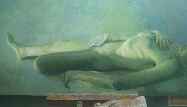 Figura en verds